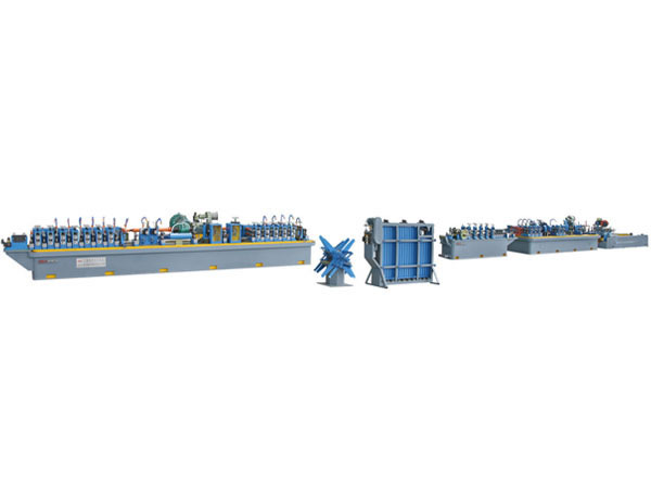 Carbon steel pipe mill line